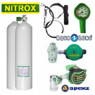 Packs Deco Nitrox 7 litres Alu