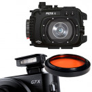 Pack Caisson G7X Mark II + Filtre rouge M67