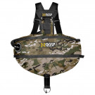 Wing complete Sidemount STEALTH 2.0 TEC Camo XDEEP
