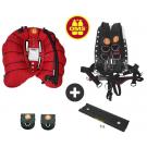 Pack OMS DEEP OCEAN Comfort Harness II Inox