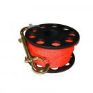 Dévidoir de parachute 30m Orange mousqueton