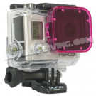 Filtre magenta PolarPro pour Caisson 40M GoPro HERO3 +