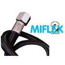 Flexibles Détendeur MP Tressé Miflex Noir 90 cm