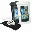 Housse étanche IP006 pour Iphone 4 & 5 + écouteurs + brassard