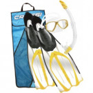 Kit PMT (Palmes, Masque, Tuba) Pluma Bag Jaune-43/44
