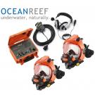 Pack Masque Facial et système de communication complet OCEAN REEF
