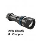 Lampe NOVALIGHT 850R WIDE avec batterie et chargeur SCUBAPRO