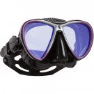Masques SYNERGY TWIN TRUFIT-MAUVE 6 Noir verres Mirroir
