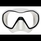 Masque de plongée VX1 Apeks Jupe Blanche Vitre claire