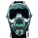 Masque Facial Neptune Space G divers Ocean Reef Green Emeraude