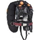 Pack Comfort Harness II Inox Deep Ocean OMS