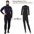 Pack Etanche Blizzard 7mm Femme plus ensemble Céramiq-Skin Offert !
