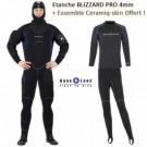 Pack Etanche BLIZZARD PRO 4 Homme avec bottes & Céramiq-Skin Offert !