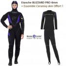 Pack Etanche Blizzard Pro 4mm Femme plus ensemble Céramiq-Skin Offert !