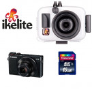 Pack Action G9X Ikelite Canon - Carte SD 16