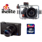 Pack photo RX100 III Sony Ikelite +carte 16GO SD Classe 10