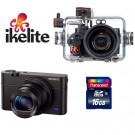 Pack photo RX100 III Sony Ikelite +carte 16GO SD Classe 10