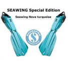"""Palmes réglables Seawing Nova Turquoise """"Edition Limité"""""""