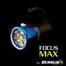 Phare FOCUS MAX FLUO BERSUB Plongée Nuit Fluorescence
