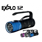 Phare Explo 12 Leds Lithium Bersub avec chargeur