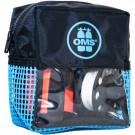 Pack sécurité Bleu: parachute palier 1m ouvert + dévidoir 23m + sacoche