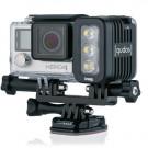 Phare QUDOS Black 400 LUMENS pour Camera Embarquée