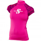 Lycra rash guard flamingo upf 50 Manches Courtes Dame SCUBAPRO