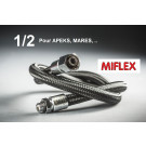 Flexible Miflex Xtreme MP noir 1/2