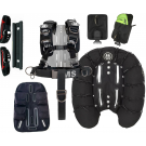 Pack Confort Harness III Signature System Wing Deep Ocean OMS