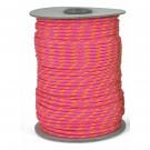 Corde Polyester rose pour parachute de palier
