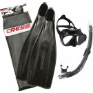 Kit Masque Tuba Palme Pro Star Bag CRESSI