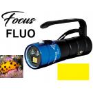 Phare FOCUS 2/6 FLUO BERSUB Plongée Nuit Fluorescence