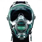 Masque Facial Neptune Space G divers Ocean Reef Green Emeraude