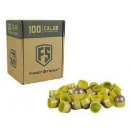 Boite de 100 Billes First Strike - Brass Copper