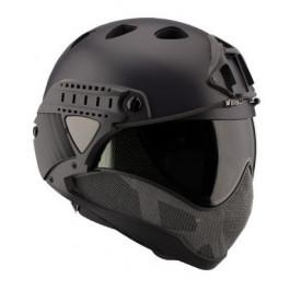 Casque WARQ Paintball Black (En kit)
