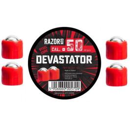 Boite de 60 billes métal Cal.50 Devastator RazorGun pour HDR50
