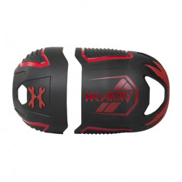 Housse Grip Vice FC HK Army pour bouteille - Black Red