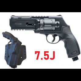 Pack Revolver HDR50 7.5J + Holster MOLLE Kydex Thermoformé Noir