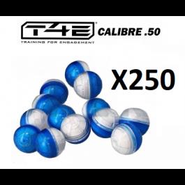Sachet de 250 billes Cal.50 craie T4E CB50 Umarex