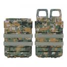 2 Porte Chargeurs Faz Mag Friction pour M4, TMC et T15 Digital Camo