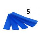 5 Brassards velcro bleu