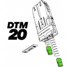 Pack 12 ressorts pour chargeur Dye DTM 20