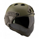 Casque WARQ Paintball Olive (Assemblé)