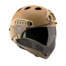 Casque WARQ Paintball Tan