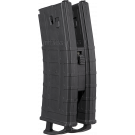 2 Chargeurs Tippmann TMC Magfed Cal.50 avec coupleur - Black