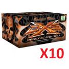 10 cartons de billes Draxxus Bronze .68