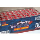 50 piles Alcalines LR6 AA Secret Formula Energy Paintball