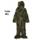 Ghillie Suit Deluxe Camouflage M/L