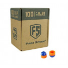 Boite de 100 Billes First Strike - Blue/Orange