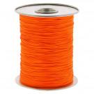 Fil Dacron HI-VIZ orange au mètre - Bout Ficel